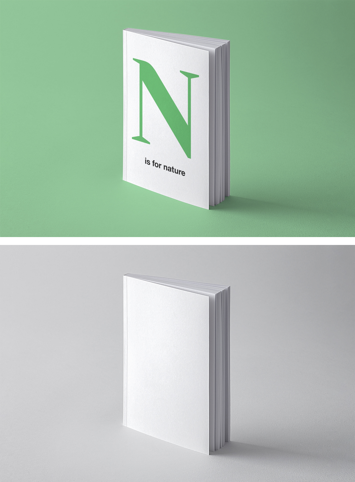 Book Perspective Mockup