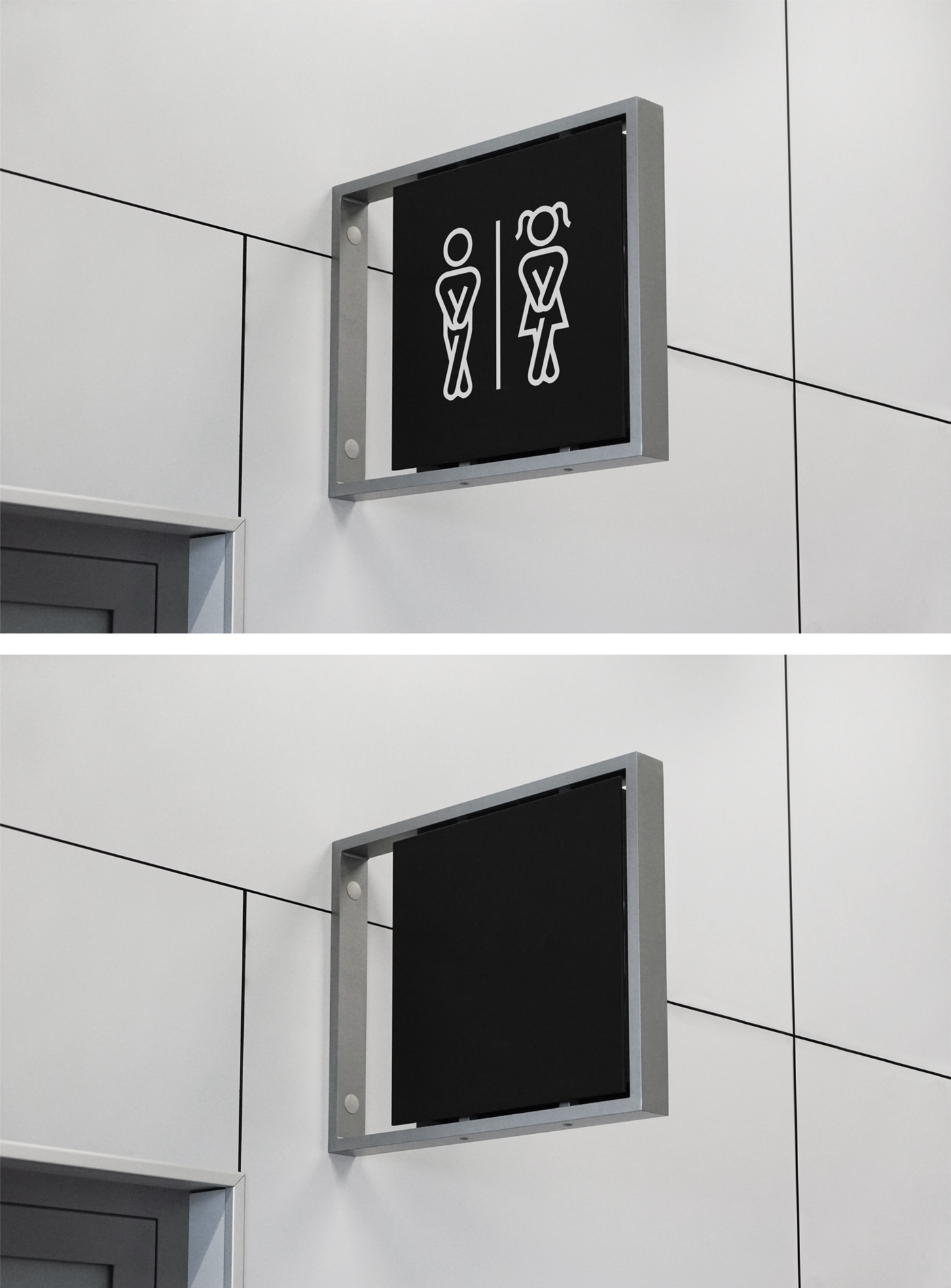 Indoor Sign Mockup