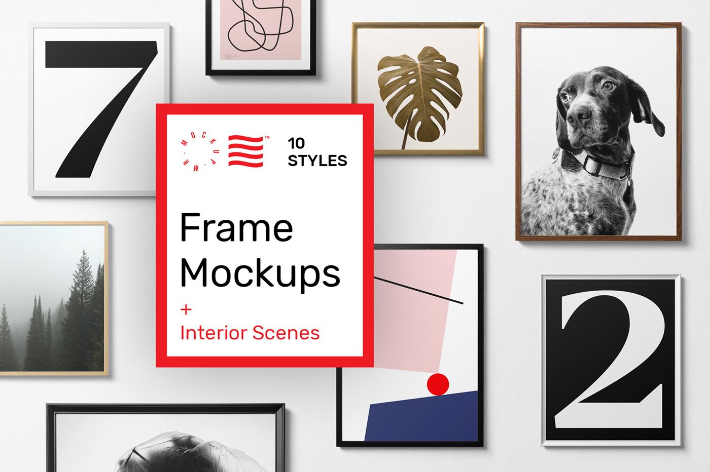 Frame Mockups