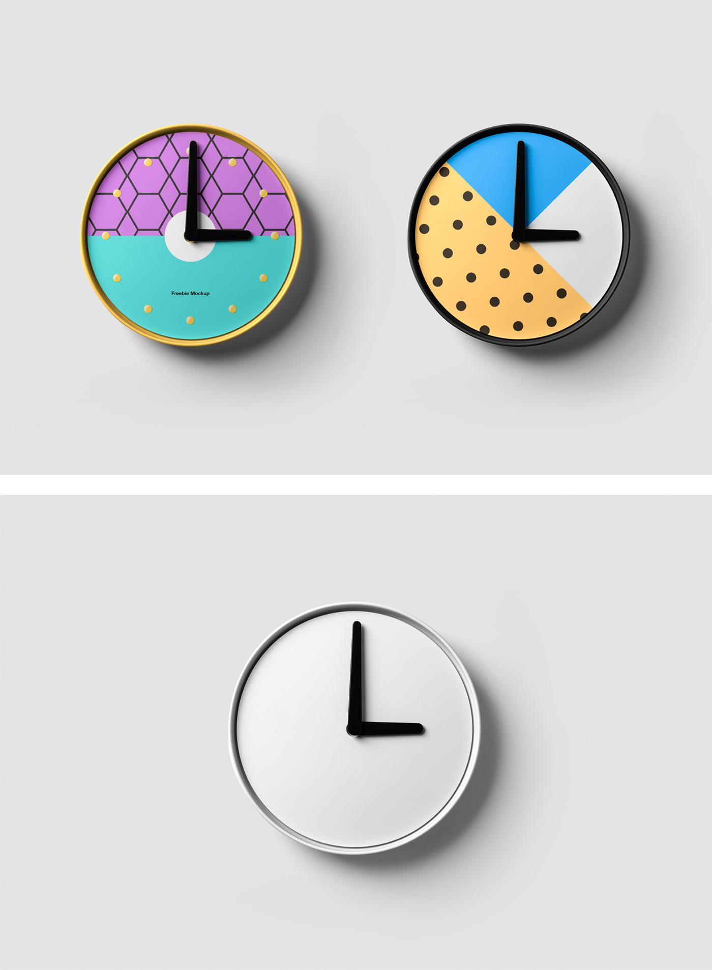 Clock Mockup