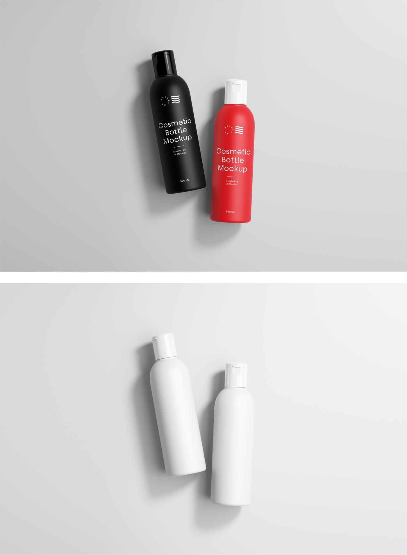 化妆品瓶样机