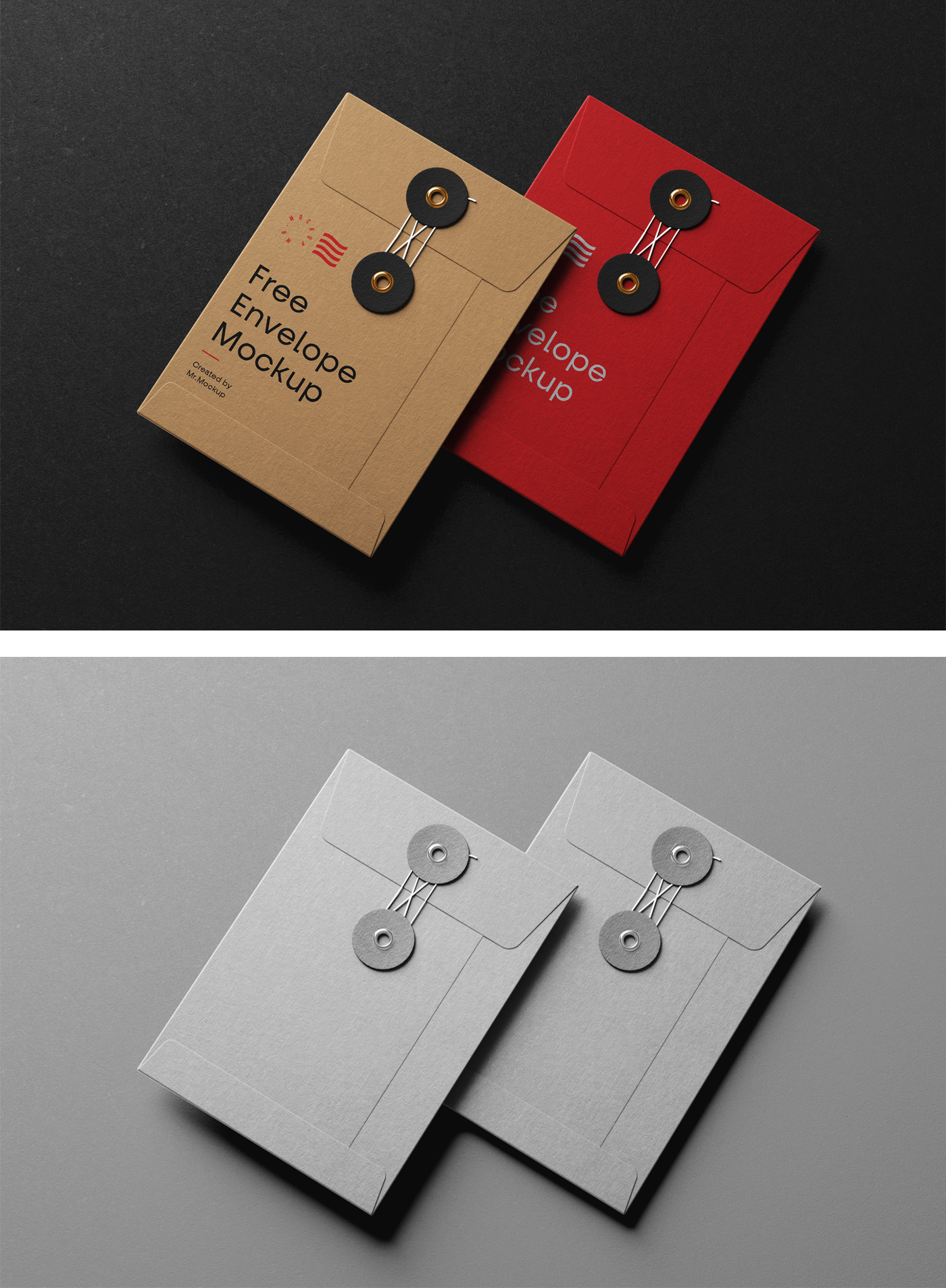String Envelope Mockups