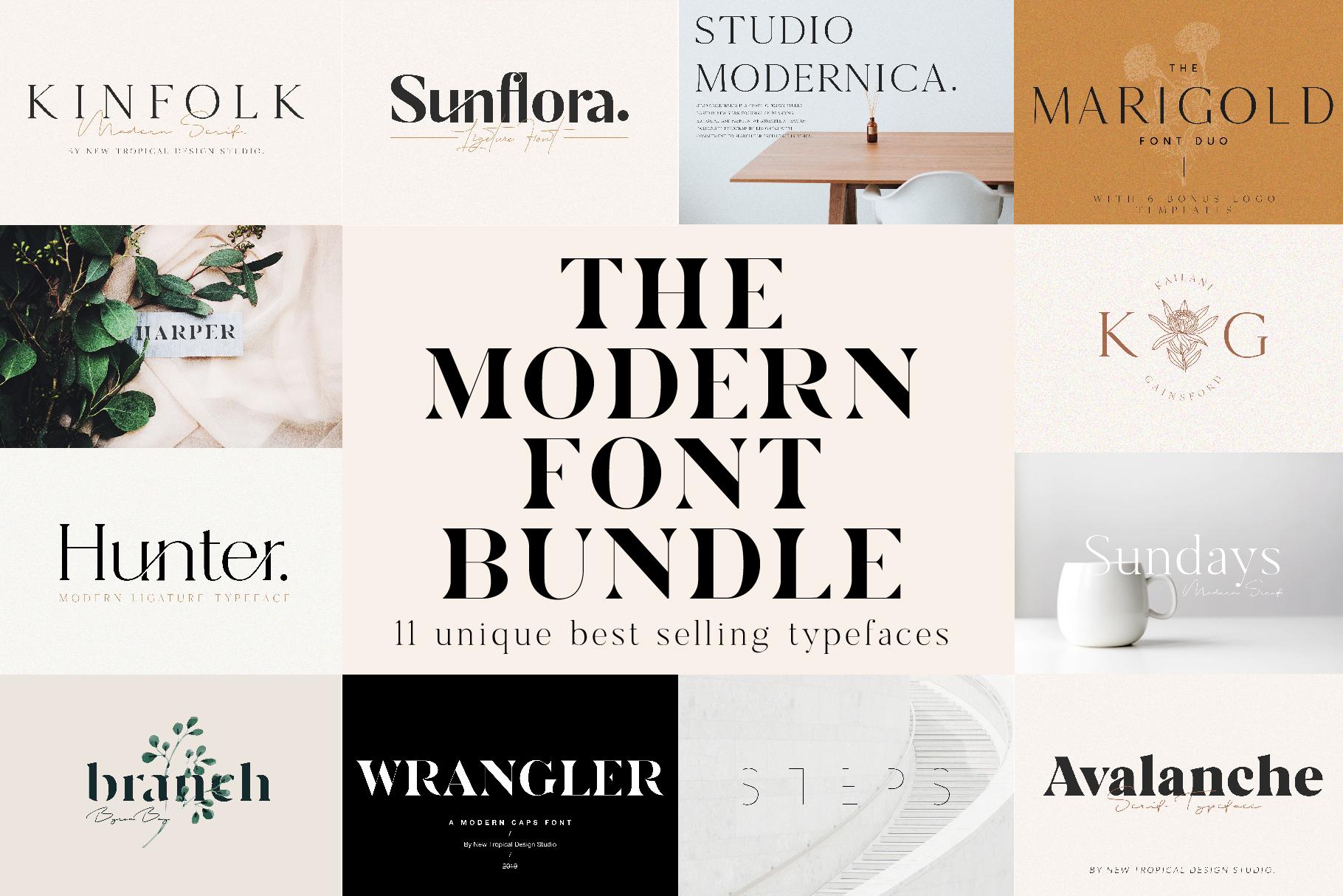 the_modern_font_bundle
