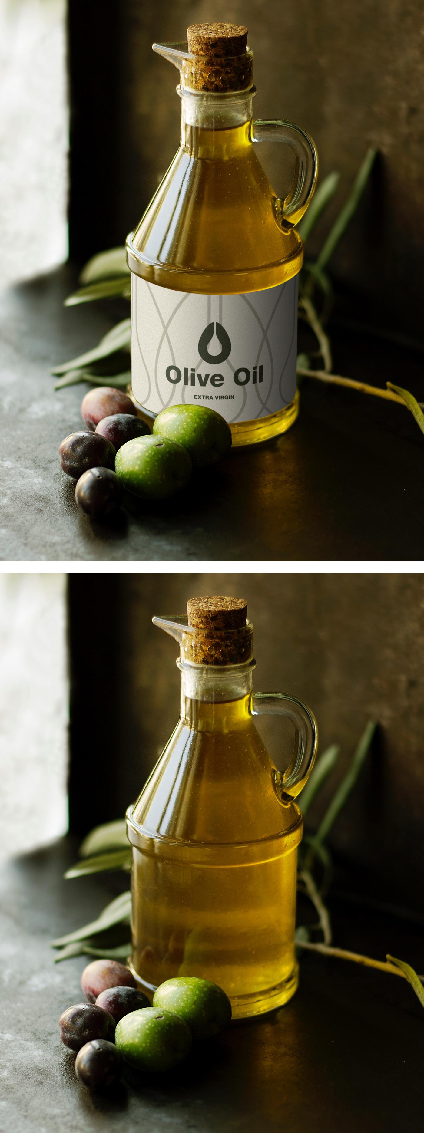 橄榄油样机