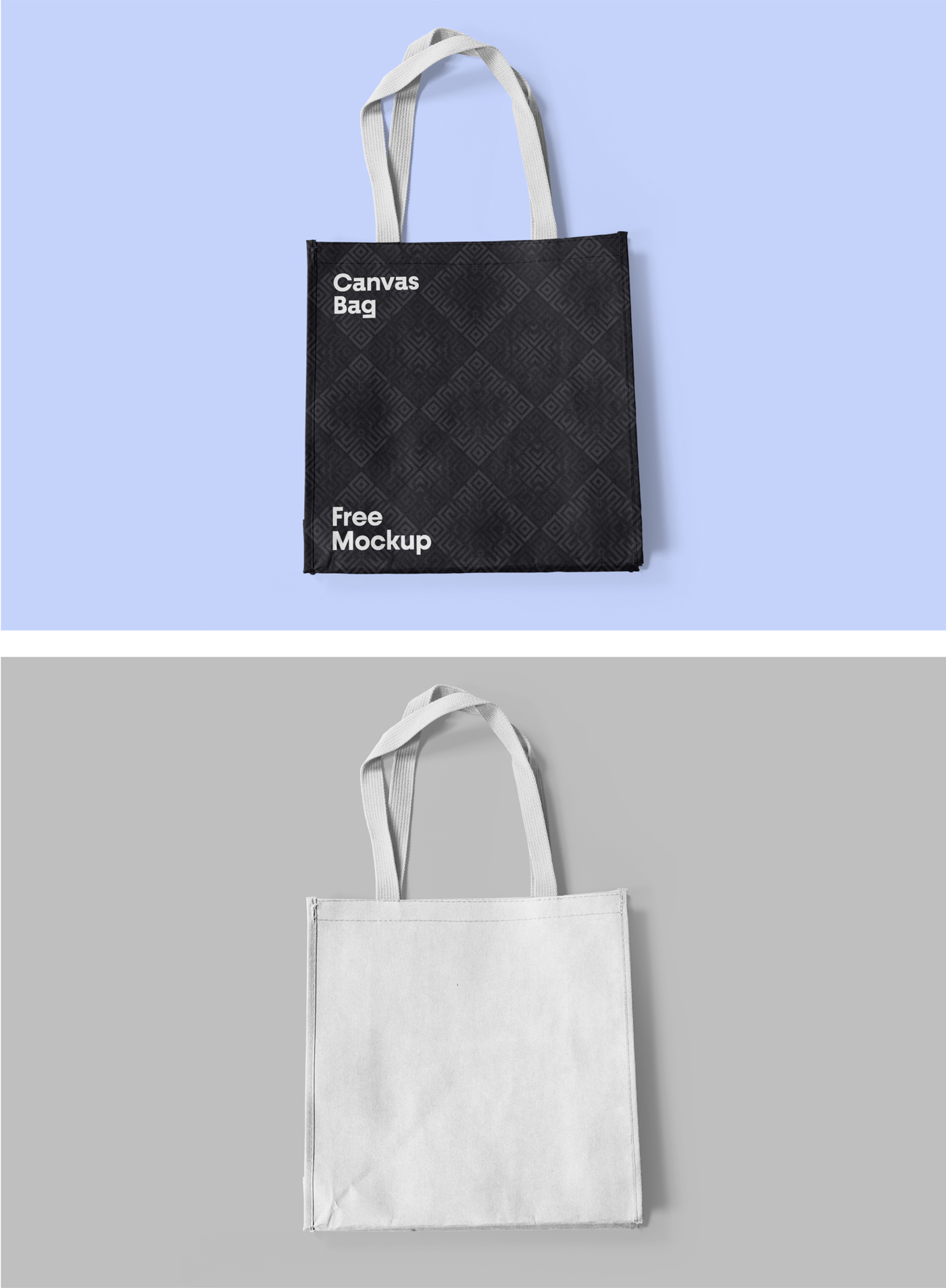Canvas Bag PSD Mockup