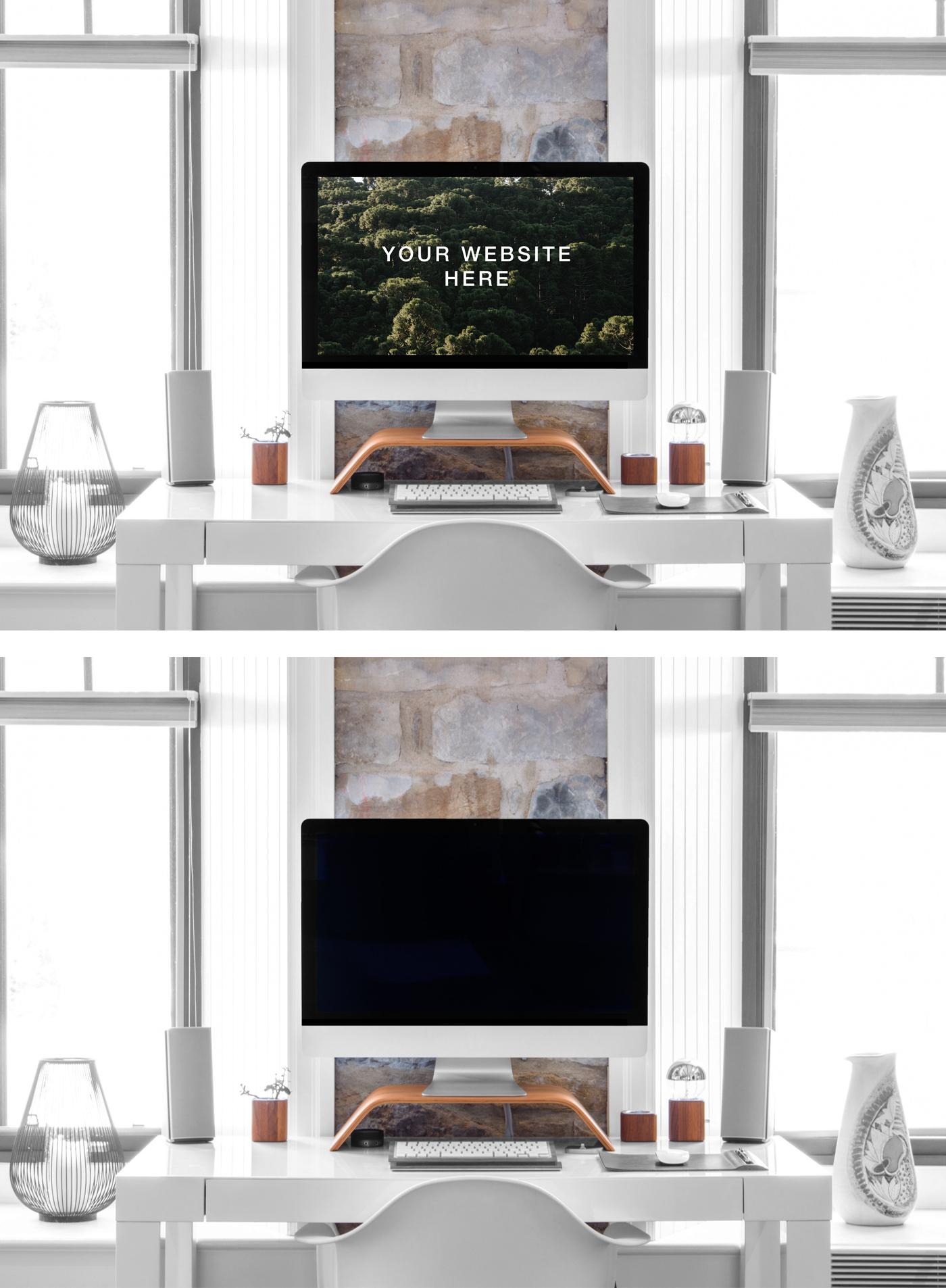 iMac 27' Mockup