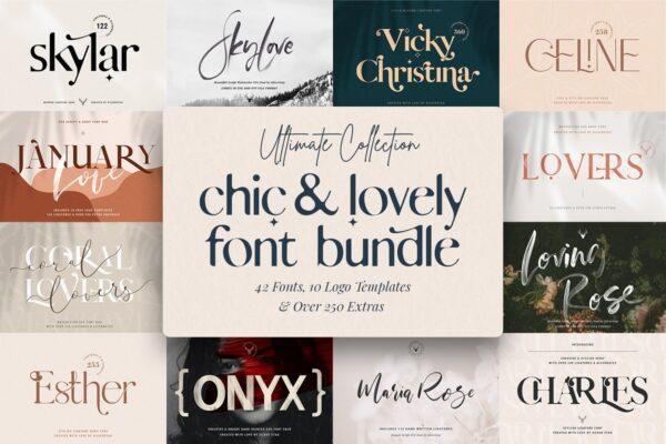 Chic & Modern Font Bundle