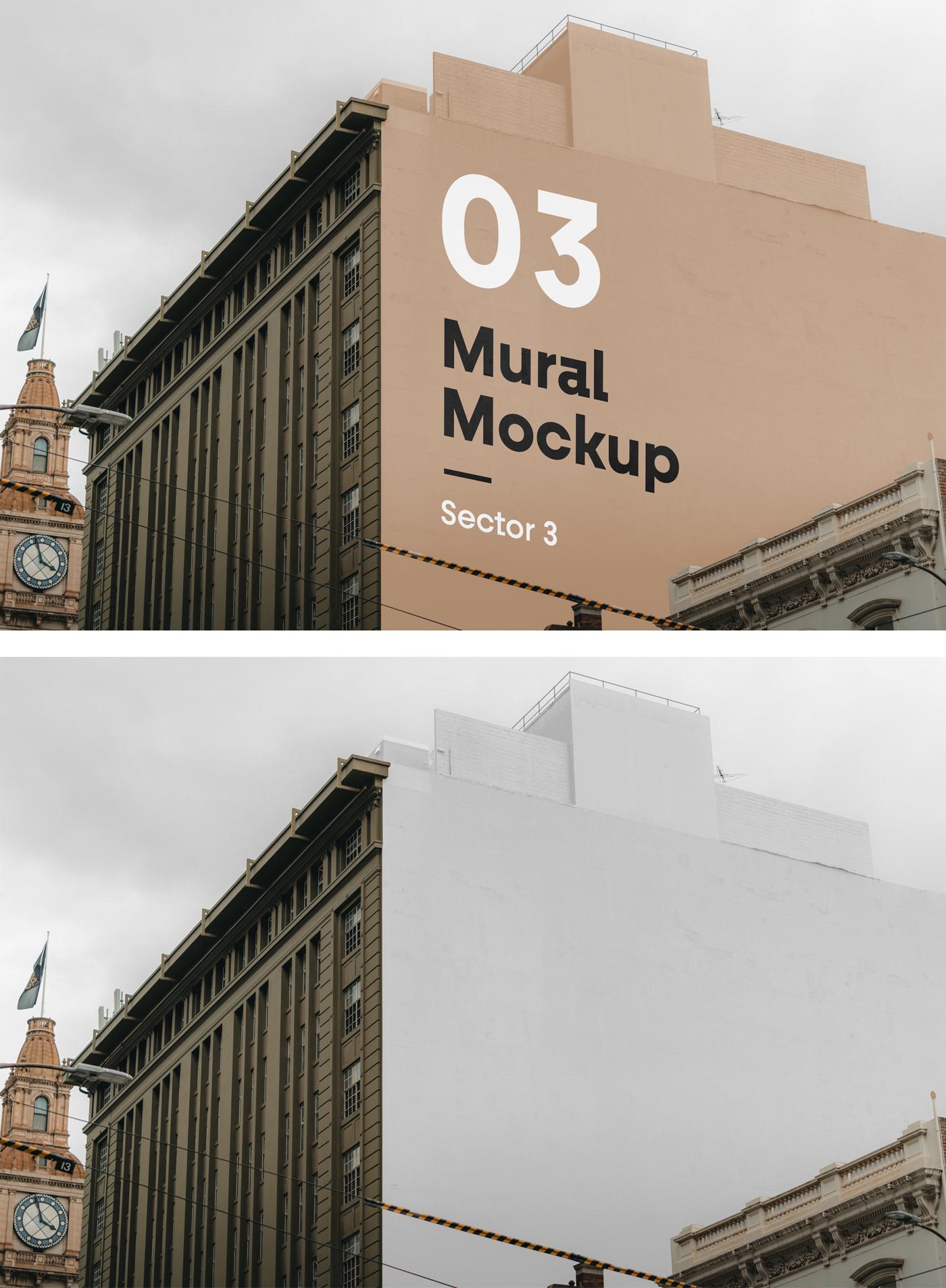 Mural PSD Mockup