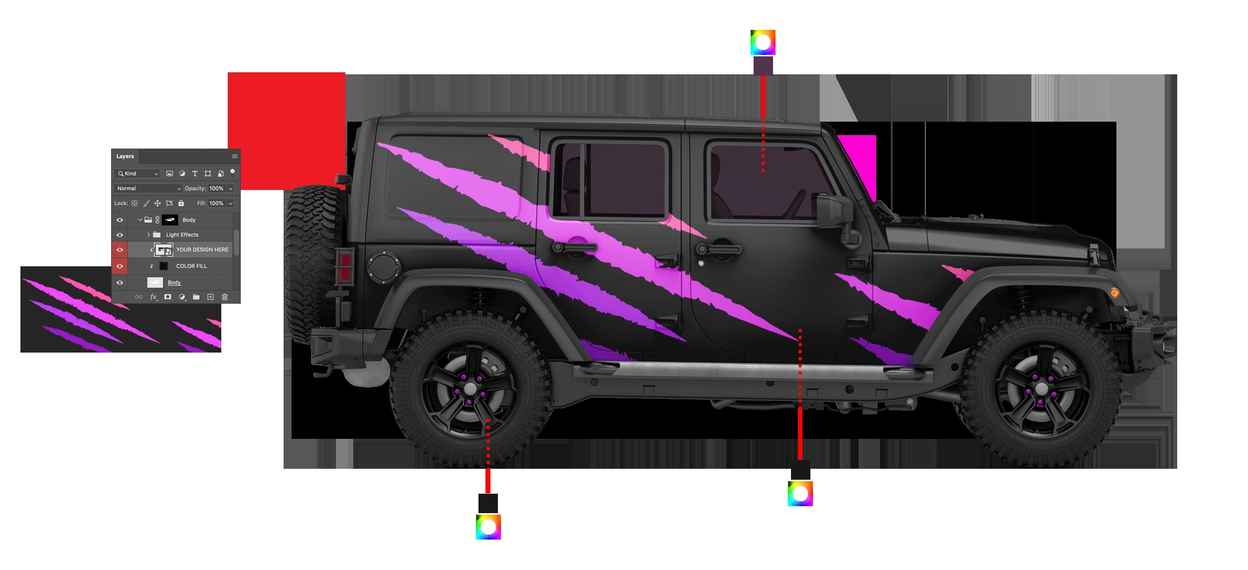 Vehicle Mockup
