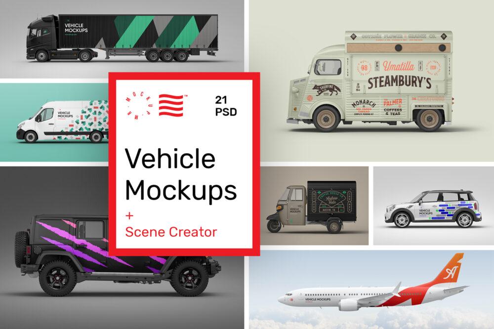Vehicle Mockups