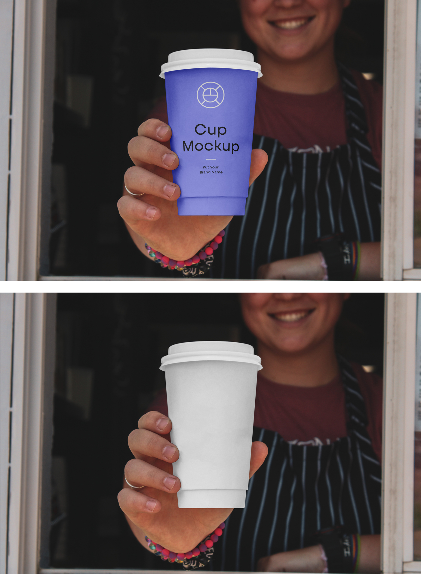 Paper Caffee Cup Mockup