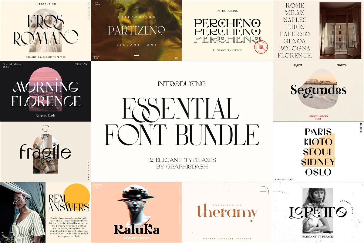 The Essentials Font Bundle